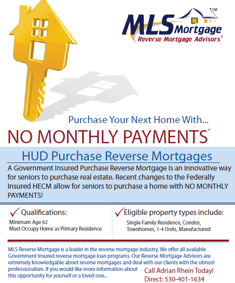 mls mortgage reverse mortgage flyer